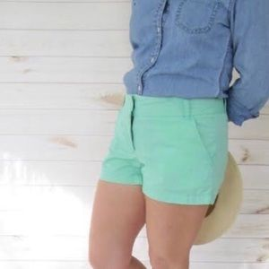 J. CREW Women's Chino Broken-In Mint Green 1135